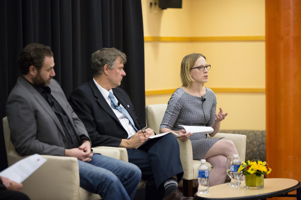 Researchers Panel photo